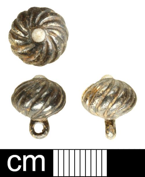 SOM-A41CC3: Post medieval button