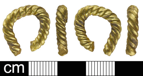 SOM-AA390A: Bronze Age torc fragment