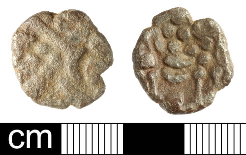 SOM-B257E5: British Iron Age coin: stater, uninscribed South Western (Durotriges)