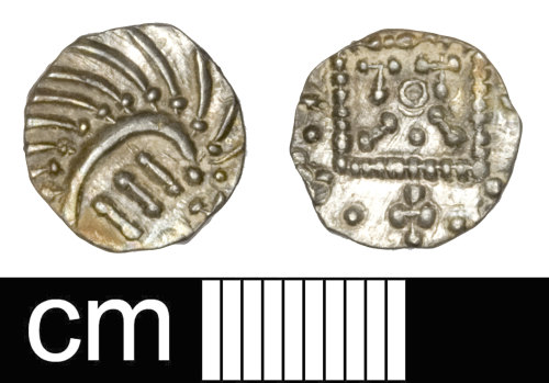 SOM-B36948: Early Medieval sceat: Series E