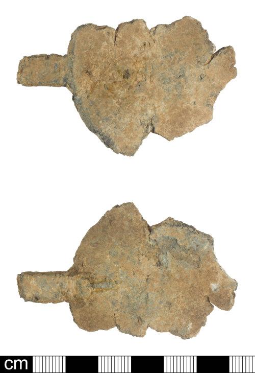 SOM-B5B1EB: Post Medieval spoon