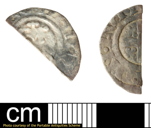 SOM-C9DB48: Medieval coin: Richard or John