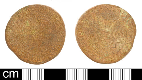 SOM-D67ABD: Post medieval jetton: issued by Hans Krauwinckel I