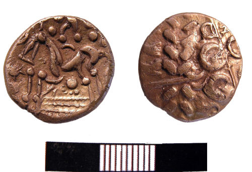 YORYM-9FD872: Stater : Iron Age