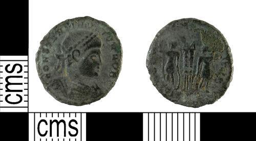 YORYM-0D6782: Nummus : House of Constantine