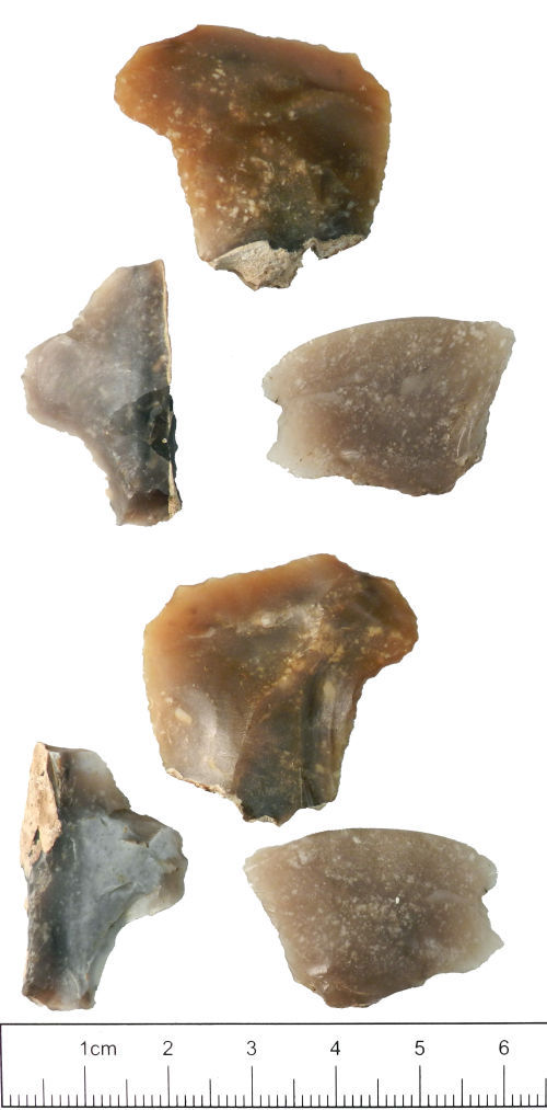 YORYM-63B3B8: Worked Flake : Mesolithic