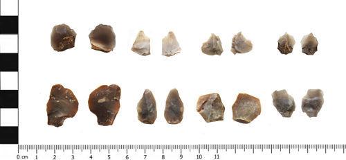 YORYM-32AEB1: Microliths : Mesolithic : YORYM-32AEB1