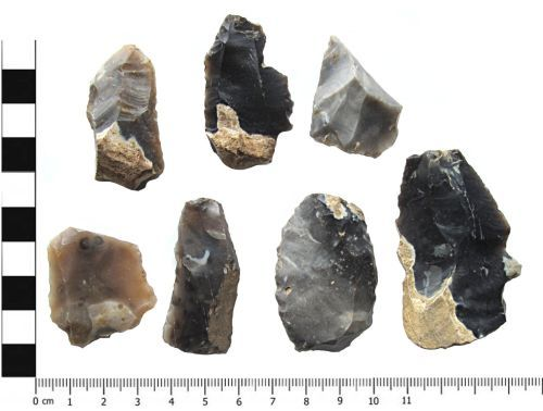 YORYM-BF1C67: Worked Flakes Dorsal: Neolithic