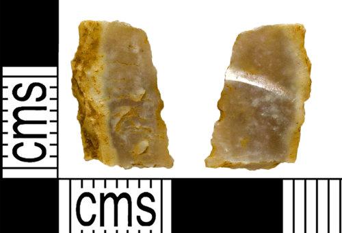 NARC-1BF532: NARC-1BF532 : Micro Scraper : Mesolithic