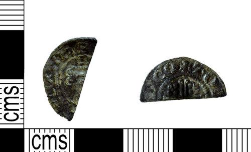NARC-7142B7: NARC-7142B7 : Cut Half-Penny : Henry III