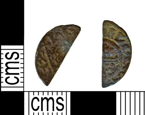 NARC-85BCE1: NARC-85BCE1 : Cut Halfpenny : John