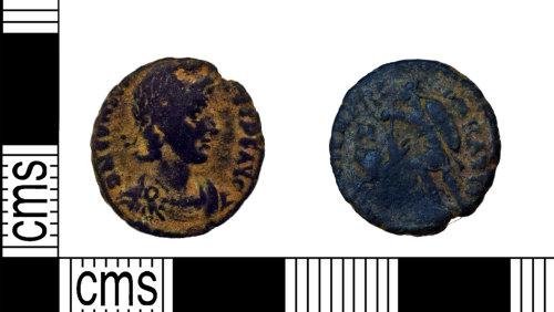 NARC-947F3B: NARC-947F3B : Nummus :  Constantius II