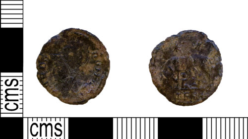 NARC-C81D1E: NARC-C81D1E : Nummus : House of Constantine