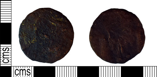 NARC-D85883: NARC-D85883 : Token or Gaming piece : Post-Medieval to Modern