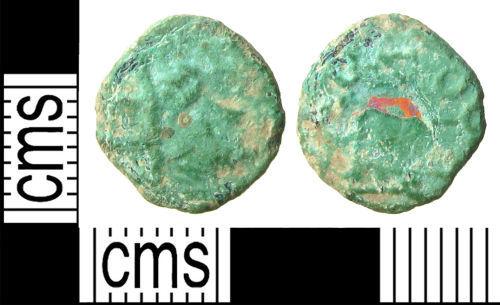 HAMP-AE7157: Roman Coin: Barb Rad of Claudius II