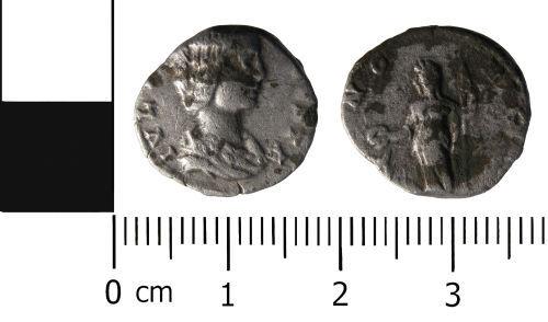 HESH-DEEBB3: Roman Coin: Denarius of Julia Domna