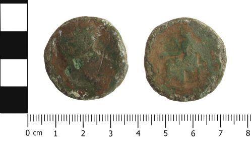 WAW-71E641: Roman Coin: Sestertius of uncertain ruler