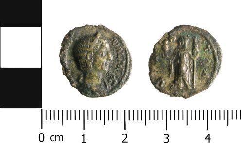 WAW-D5F465: Roman Coin: Denarius of Julia Avita Mamaea