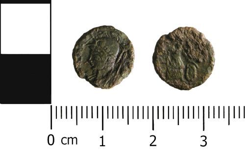 WAW-D65288: Roman Coin: Nummus of House of Constantine