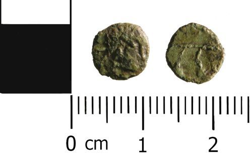 WAW-D67DD6: Roman Coin: Probable contemporary copy of a House of Constantine nummus