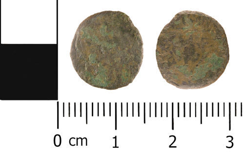 WMID-51EB57: Roman Coin: Nuumus of unknown 4th century ruler