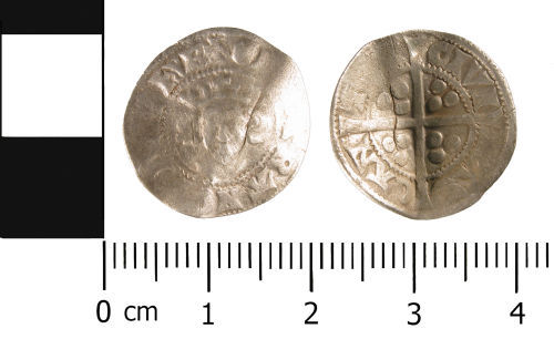 WMID-AE1493: Medieval Coin: Penny probably of Edward II