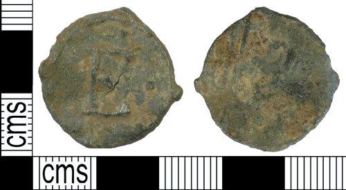 SUSS-C51D97: Post Medieval Lead Token