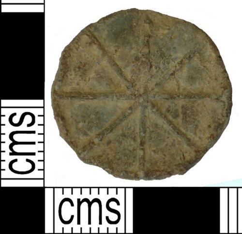 SUSS-D29885: Medieval lead token