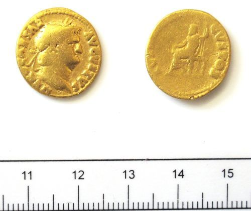 DUR-B4E094: Coin: Aureus of Nero