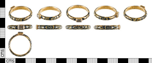 YORYM-FED2E9: Post-Medieval : Finger Ring.
