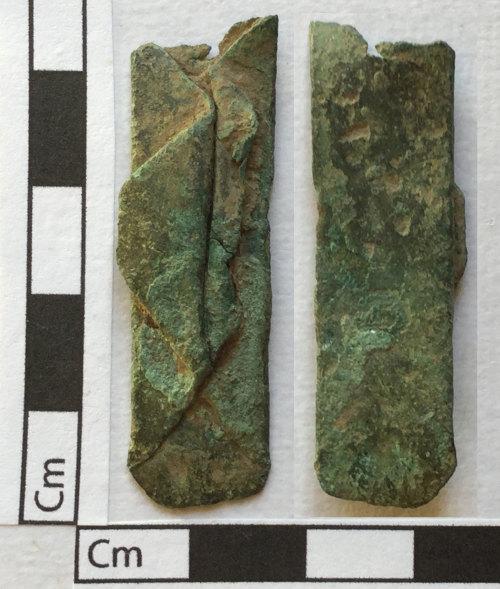 PUBLIC-4FC4A5: Copper alloy paperclip river pot mend