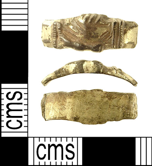 IOW-917833: Medieval Finger Ring. Treasure case no. 2009 T287