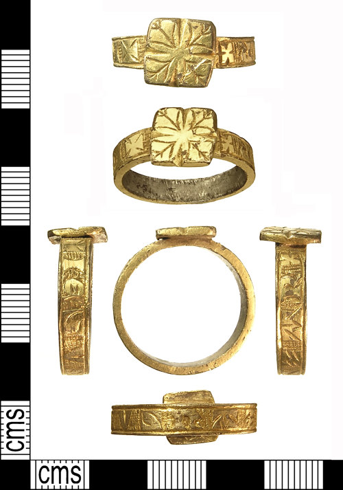 IOW-0723C2: IOW-0723C2 Medieval Finger-Ring. Treasure case no. 2011 T590