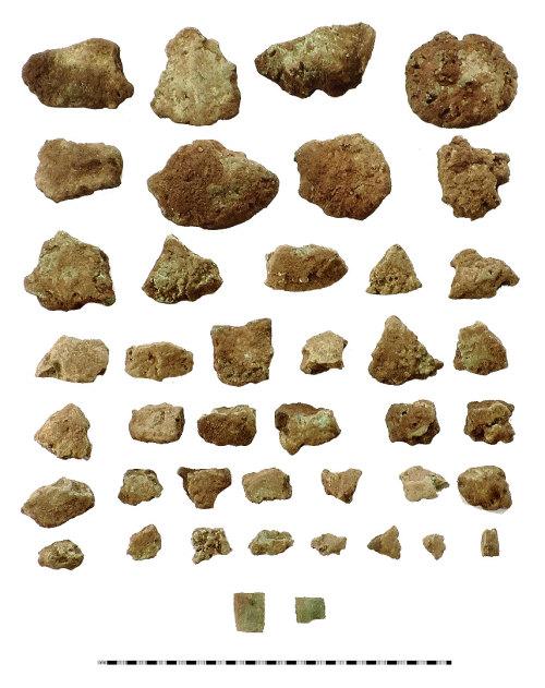 IOW-622CD9: Bronze Age Ingots and Sword Blades. Treasure case no. 2015 T64