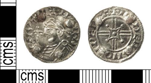 IOW-217104: rEarly-Medieval (Anglo-Saxon) Coin Brooch. Treasure case no. 2018 T40