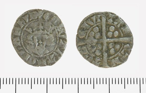 IOW-FC65B5: Penny of Edward II. Class 11B1, North 1061 (1312-14).