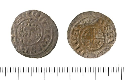 IOW-ED10B2: Penny of Henry III. North 979, class 7b. North 979 (1217/8-42)