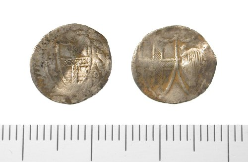 IOW-D7CCE5: Commonwealth penny. North 2729 (1649-60).