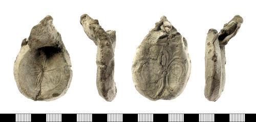 IOW-083774: Medieval Pilgrim Ampulla