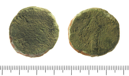 IOW-5EF032: Roman Coin: Sestertius of Marcus Aurelius.
