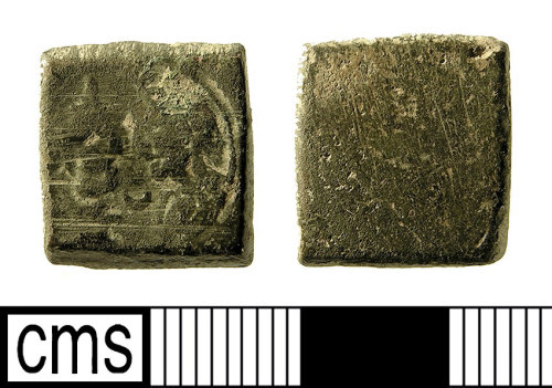 IOW-223303: Medieval or Post-Medieval Coin Weight for a Double Excellent