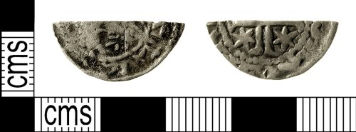 IOW-601417: Medieval Coin: Cut Halfpenny of William I of Scotland
