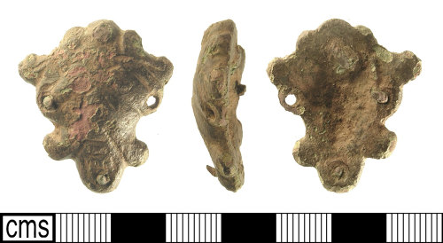 IOW-4FA904: Late Early-Medieval Anglo-Scandinavian Mount