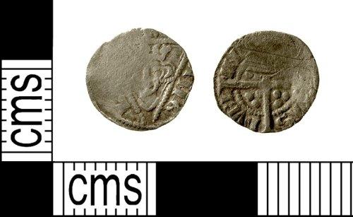 IOW-3019A7: Medieval Coin: Irish Farthing of Edward I