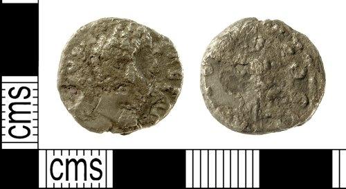 IOW-7CE3B0: Roman Coin: Denarius of Aelius Caesar