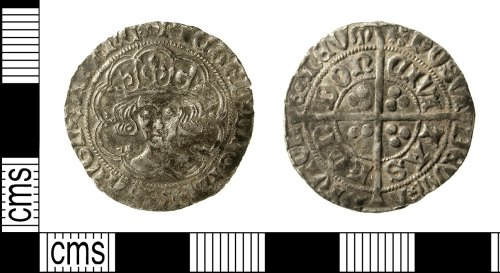 IOW-9A6E24: Medieval Coin: Groat of Richard III