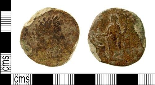 IOW-BF2357: Roman Coin: Sestertius of Marcus Aurelius