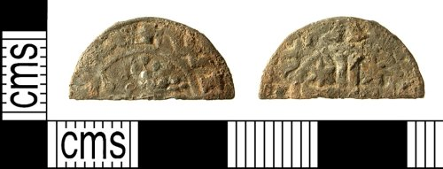IOW-662601: Medieval Coin: Scottish cut halfpenny of William I or Alexander II (in the name of William)