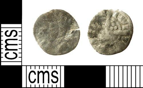 IOW-CFFAF0: Medieval Coin: Irish Farthing of Edward I