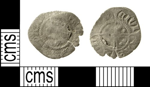 IOW-85A904: Medieval Coin: Halfpenny of Henry VI